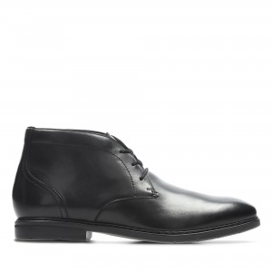 BANBURY MID BLACK LEATHER