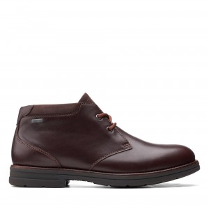 BANNING HI GTX MAHOGANY LEATHER