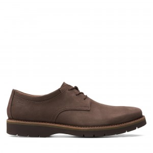 BAYHILL PLAIN DARK BROWN LEATHER