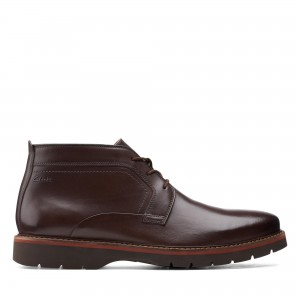 BAYHILL MID DARK BROWN LEATHER
