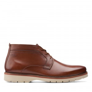 BAYHILL MID DARK TAN LEATHER